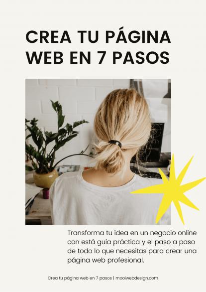 crea tu web en 7 pasos mooiwebdesign